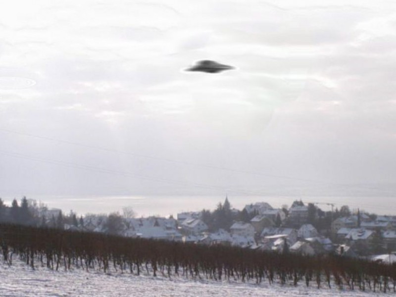 List of reported UFO sightings