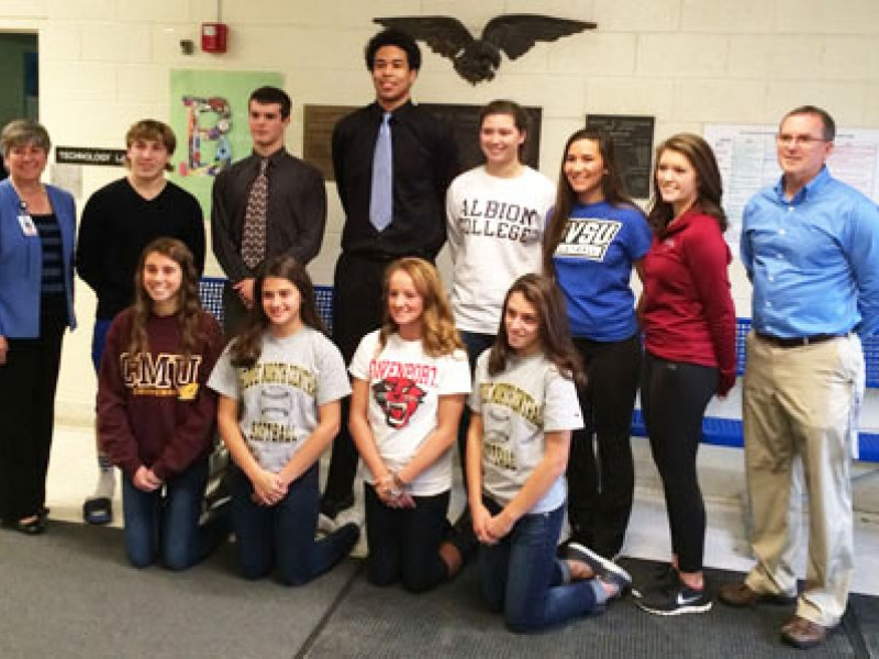 Signing Day In Utica Community Schools Shelby Mi Patch